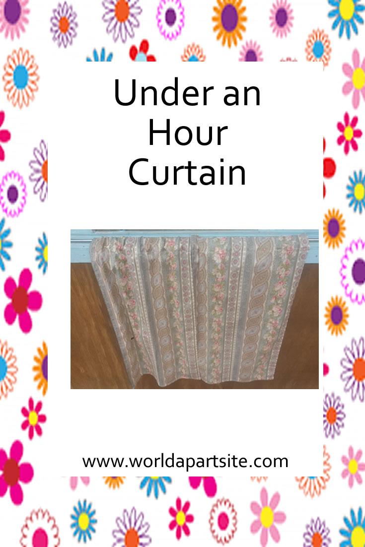 under hour curtain